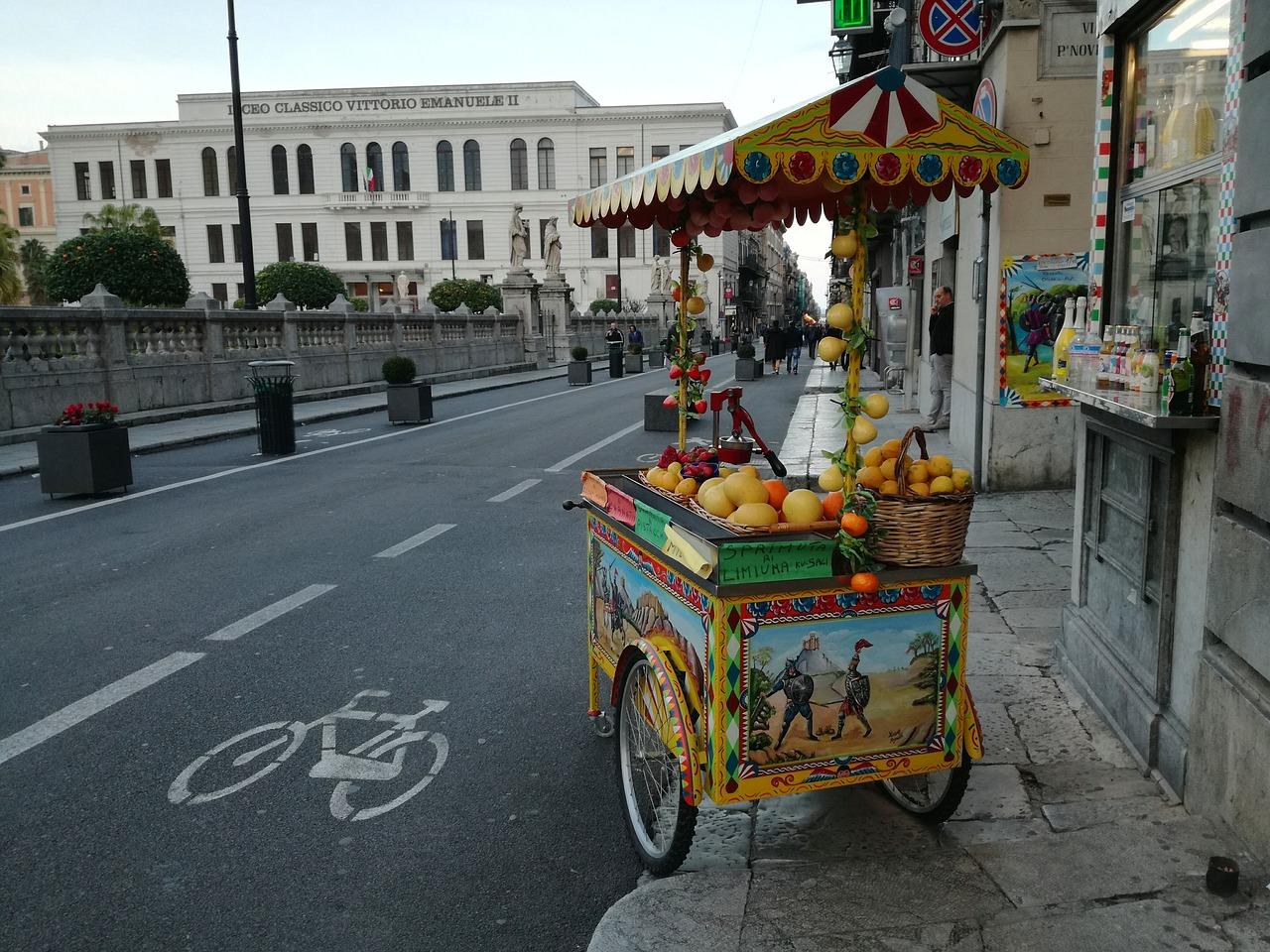 Palermo la città dello street food