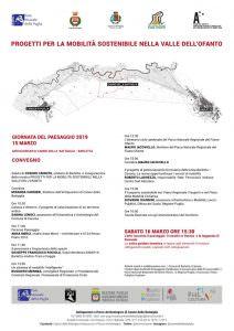 Giornata del Paesaggio 2019 - Mostra convegno sulla mobilità sostenibile